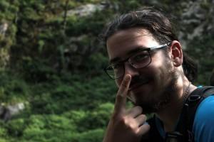 Mateo, en pleno Himalaya