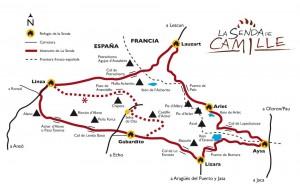 Las etapas de la ruta