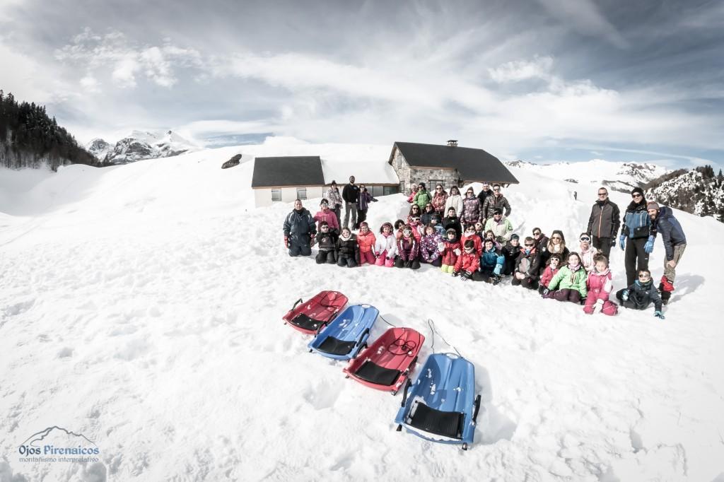 Trineos, iglús y muchas actividades en la nieve