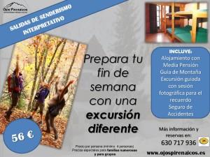 Actividades Ojos Pirenaicos-El Águila Candanchú Senderismo