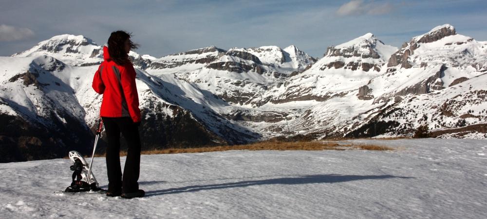 Raquetas de Nieve y un recorrido panorámico