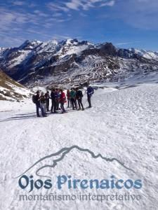 Raquetas de Nieve en el Pirineo-Ojos Pirenaicos Febrero 2016 (6)