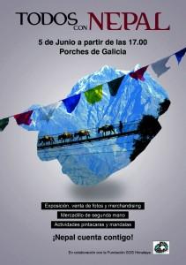 Todos con Nepal-Ojos Pirenaicos-Mercado Solidario