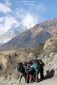 Viaje organizado a los Annapurnas
