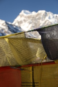 Banderas de oración en Nepal